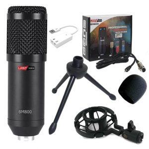 Microphone Youtuber BM800