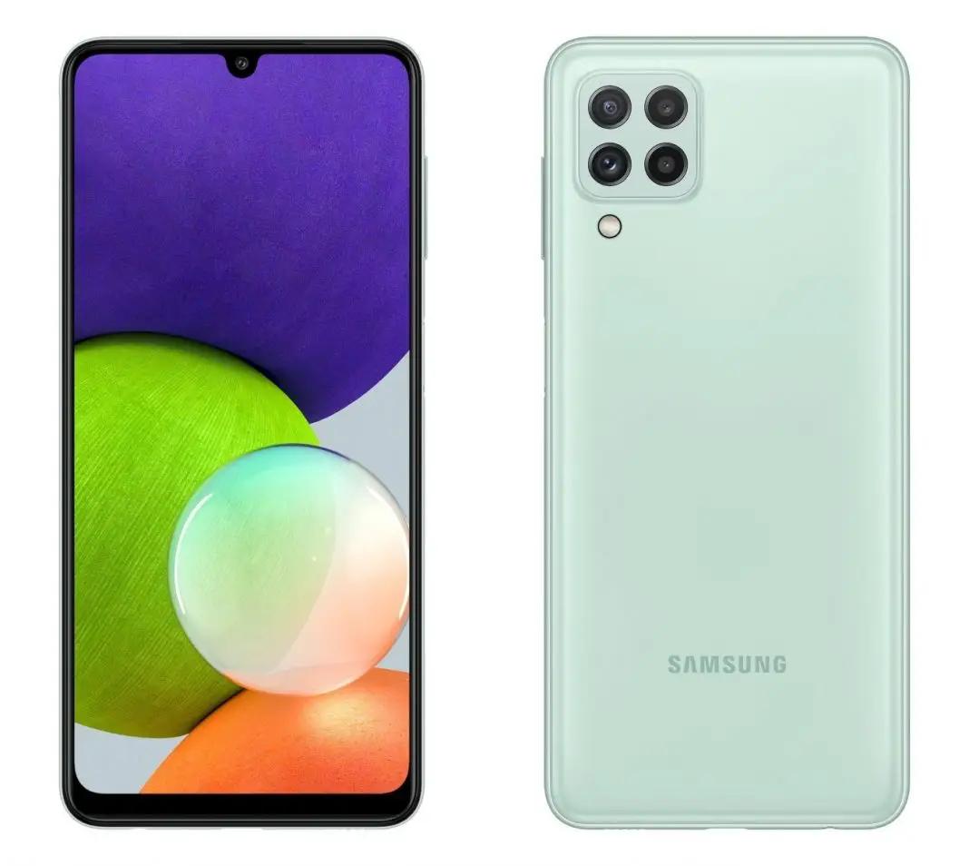 Galaxy A22 4G resmi: Helio G80, layar 6,84 inci
