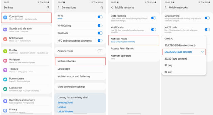 Cara Mematikan 5G di Semua HP Samsung