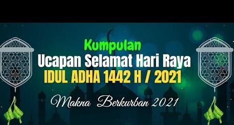 Ucapan Hari Raya Idul Adha 2021