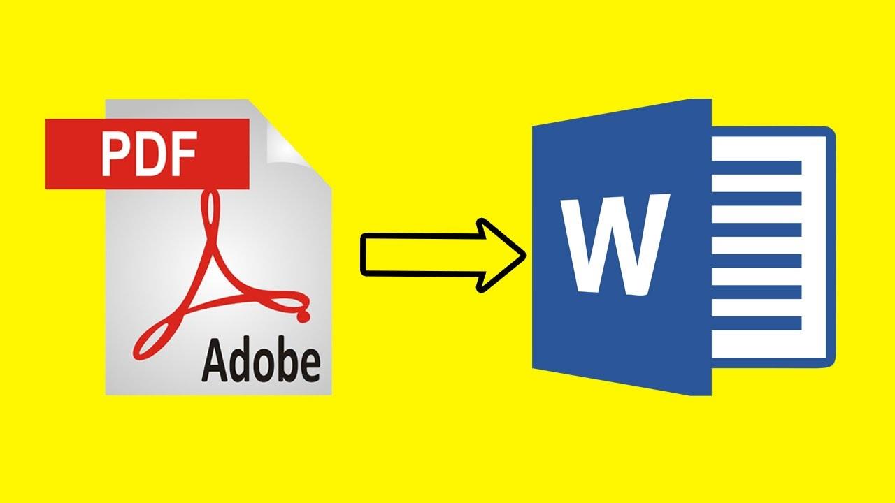 Cara Merubah PDF ke Word