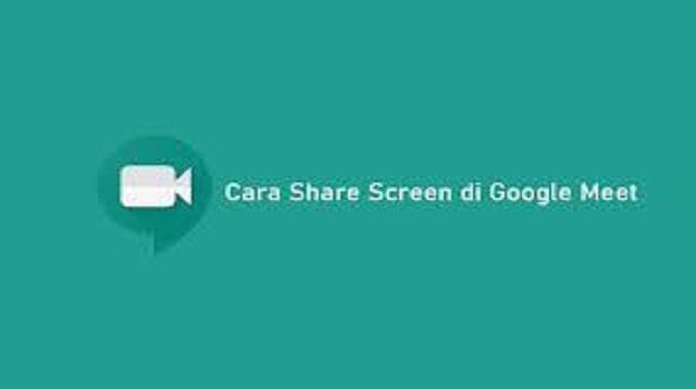 Cara Share Screen di Google Meet di Hp dan Laptop
