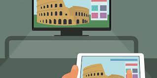 Cara Menyambungkan Notebook ke TV Dengan Kabel