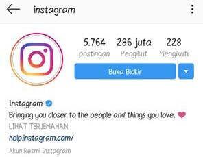 Cara Membuka Blokir Instagram