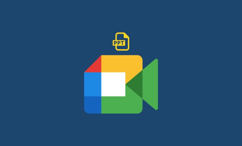 Cara Menampilkan Power Point di Google Meet