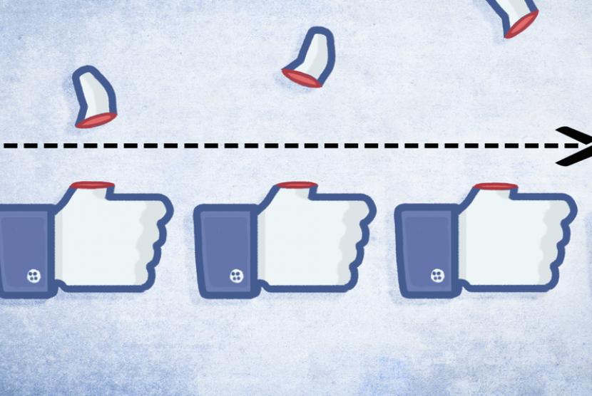 Cara Menyembunyikan Like di Facebook